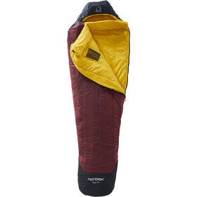 Nordisk Oscar -10° Mummy Sac de couchage M, rio red/mustard yellow/black